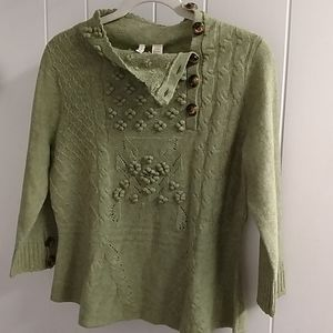 Anthropologie Moth brand WOOL sweater
